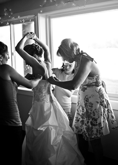 c & l wedding 34 bw
