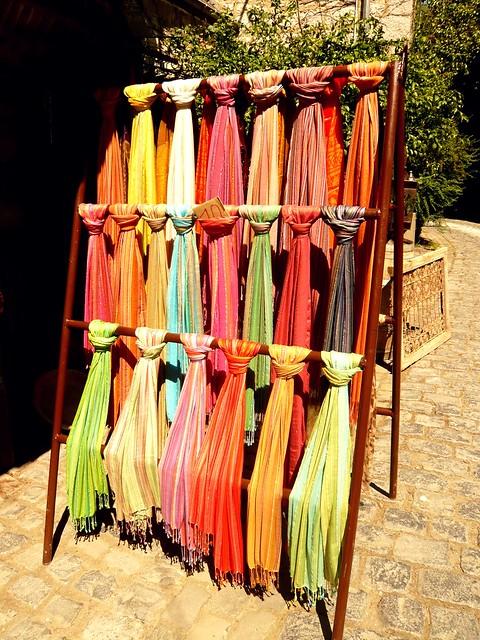 arcoiris de pashminas