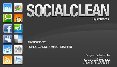 redes sociais, icones