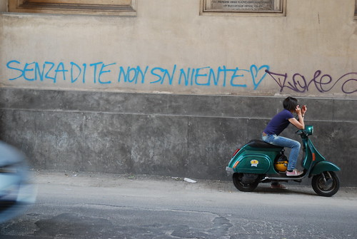 Senza di te non sono niente / Without you I'm nothing by amélie vandamme