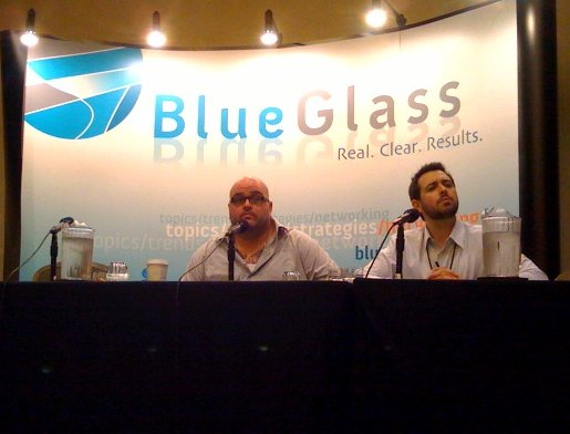 BlueGlass LA Dave and Rand