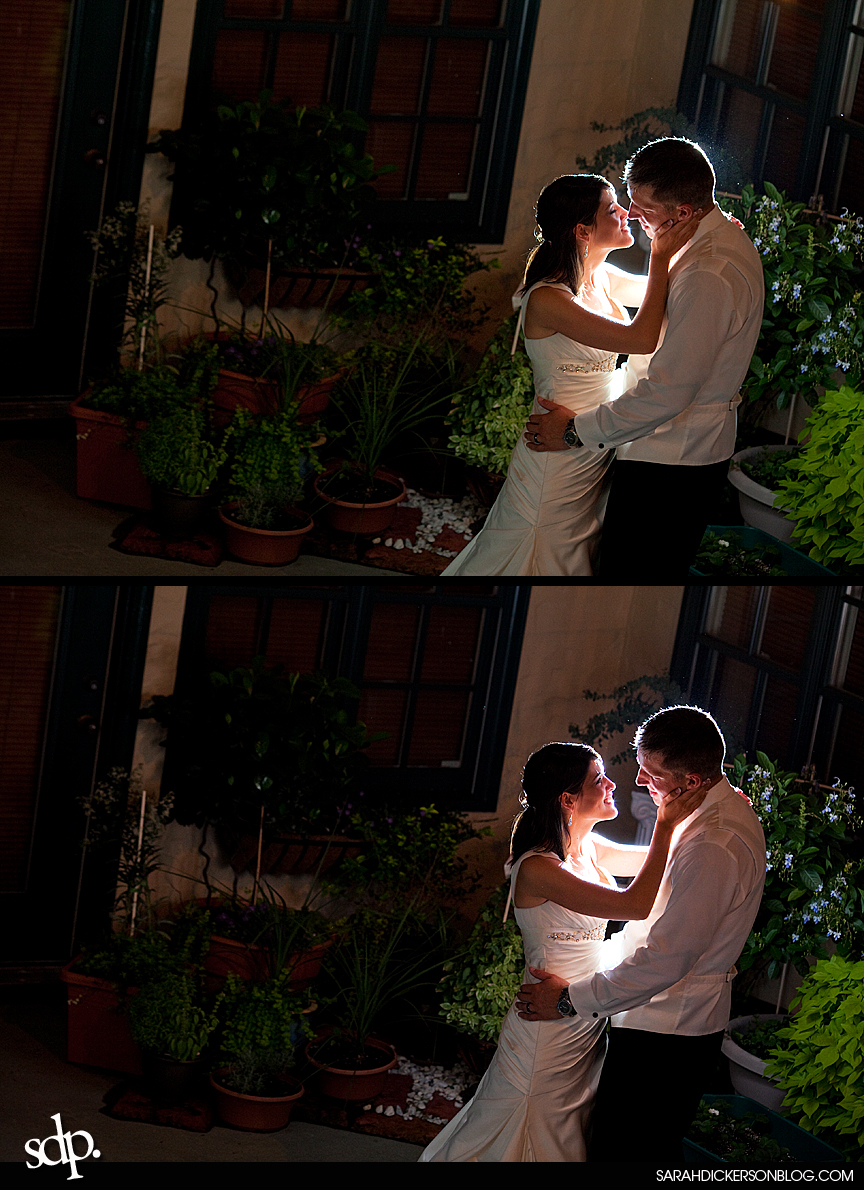 Kansas City wedding reception images, the Villas