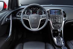 Cockpit neuer Opel Astra