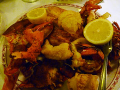 Lobster Dinner at the Savoy Grill