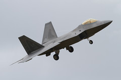 06-4126 F22 Rapter (xj900suk) Tags: fighter aircraft jet raptor stealth f22 usaf fairford airtattoo riat2010 064126