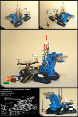 Forward Command Base (Pierre E Fieschi) Tags: mobile lego pierre space center micro base command logistics microspace terraforming fieschi microscale microspacetopia