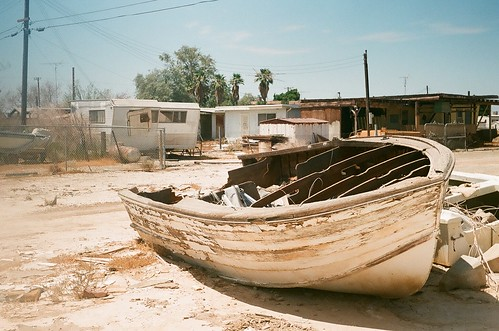 bombay beach grounded boat
