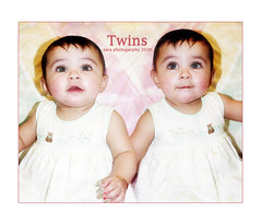 Twins (Sara Abdulaziz ~) Tags: love girl smile face canon photography twins eyes child sweet princesss