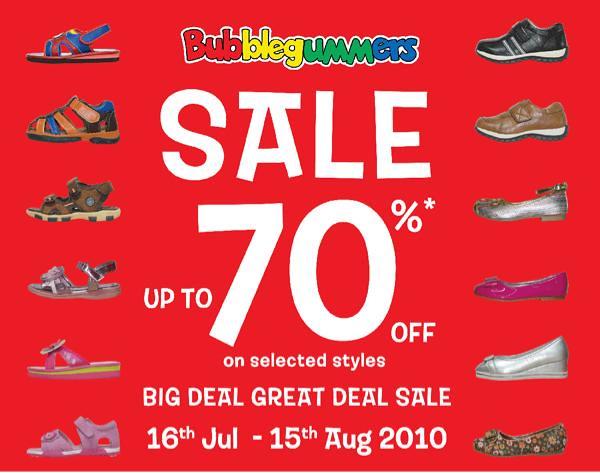 Bubblegummers Footwear ON Sale