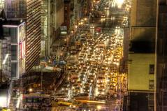 Bees, Do Not Block Intersection (Tony Shi Photos) Tags: new york nyc ny photo traffic intersection nightmare jam avenue hdr nuevayork 纽约 紐約 نيويورك nikond700 ньюйорк 뉴욕주 tonyshi ניויאָרק