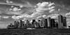 Manhattan Skyline (CVerwaal) Tags: nyc newyorkcity newyork skyline clouds lumix harbor waterfront manhattan hudsonriver newyorkharbor lumixlx3