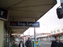 street sign king nsw optician kaptainkobold warrawong