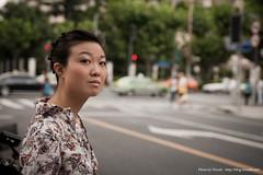 Chirstine (Woods | Damien) Tags: street portrait people urban asia flickr shanghai jingan asie  rue meet shanghaiflickrmeet  wwpw worldwidephotowalk2010