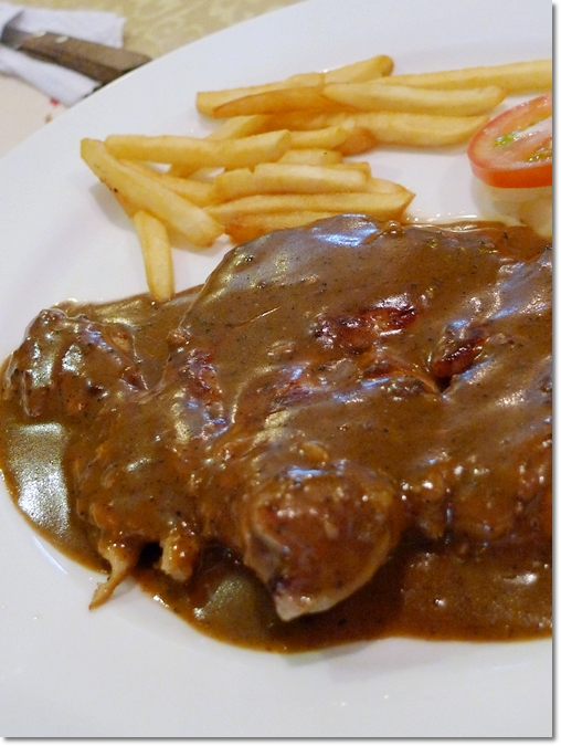 Black Pepper Chicken Chop