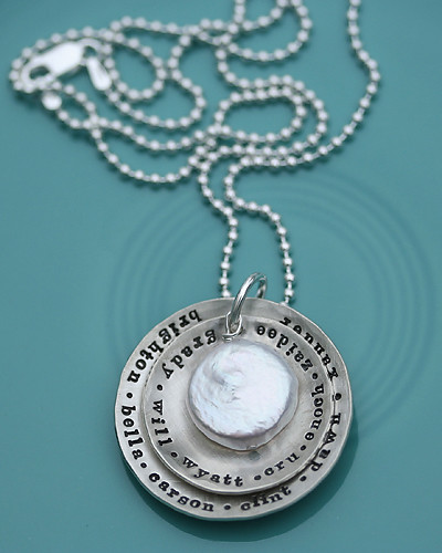 handstamped necklace