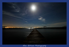 Calm Water... (Alex Gilliard) Tags: longexposure moon lake water june night highlands florida tripod nighttime lakejuneinwinter plaicd
