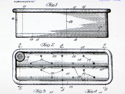 Sub-irrigated Planter (SIP) Patent Drawing From 1917