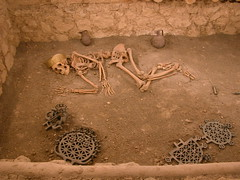 DSCN0837 Musée de Çorum, tombe d'Alacahöyük