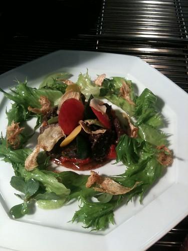 tartelette d'escargots