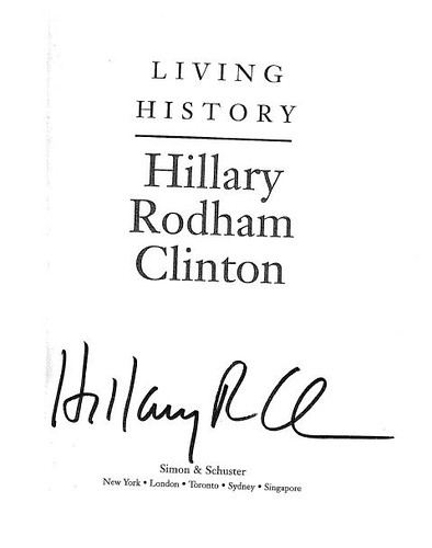 Hilary Living History