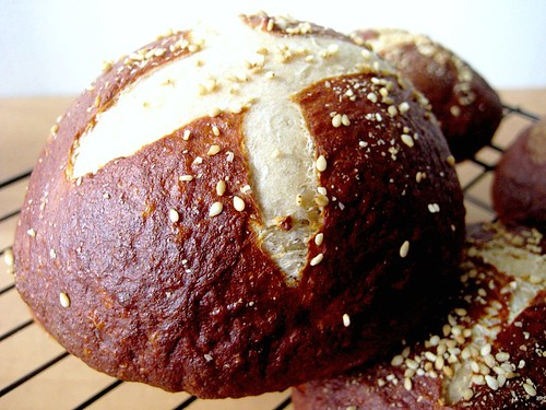 ... Burgers on Homemade Pretzel Rolls | Joanne Eats Well With Others