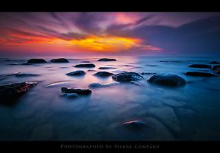 Sauble Beach, On The Rocks