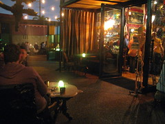 Villains Tavern's front patio by Caroline on Crack