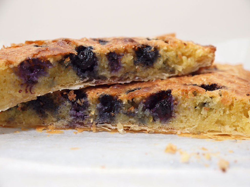 TCC - Blueberry Almond Slice - Finished