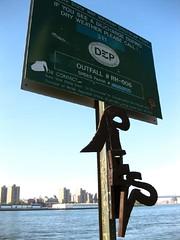 DEP Sign