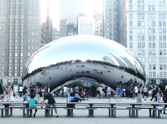 the bean again (wacky doodler) Tags: chicago milleniumpark cloudgate thebean