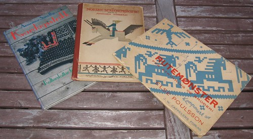 Strikkebibler - gamle strikkebøker