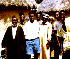 Section Chief Jamiru of Nyanyahun Section, Upper Bambara Chiefdom, 1967 (Photo #1 of 2) (Barry Isaac) Tags: chief sierraleone westafrica elders chiefs pendembu africanchief afriqueouest upperbambarachiefdom barryisaac kailahundistrict africanchiefs