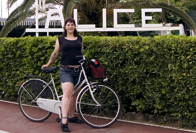 bikey in Italy