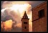 Trani: Sfarzo Medioevale (wide) (Michele Cannone) Tags: light sunset red sun church clouds tramonto nuvole cathedral cloudy chiesa explore sole frontpage rosso luce romanic romanico cattedrale nuvoloso trani