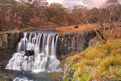 Ebor Falls in Winter (-yury-) Tags: winter landscape waterfall australia falls nsw ebor waterfallway