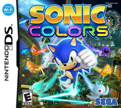 Sonic Colors DS Pack Front