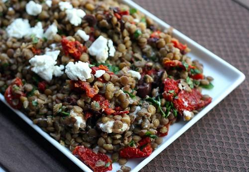 Mediterranean Lentil Salad – Elly Says Opa!