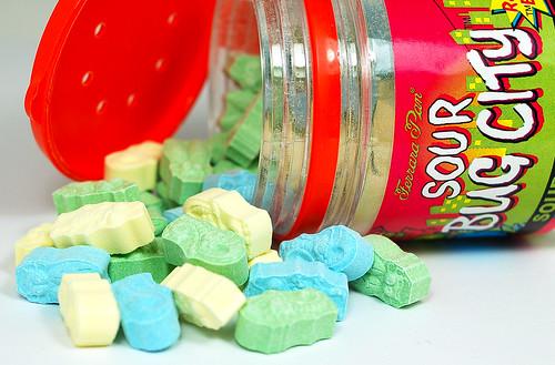 Ferrara Pan Sour Bug City Sour Candy Tarts