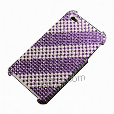 TPU Case for Apple iPhone 4th 4G Heart Pattern Clear