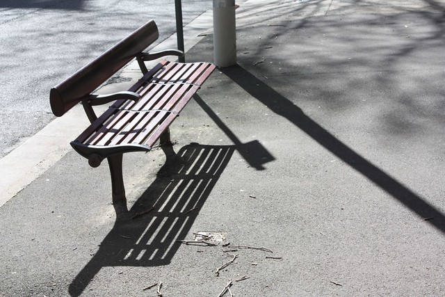 A bench in the Winter sun...