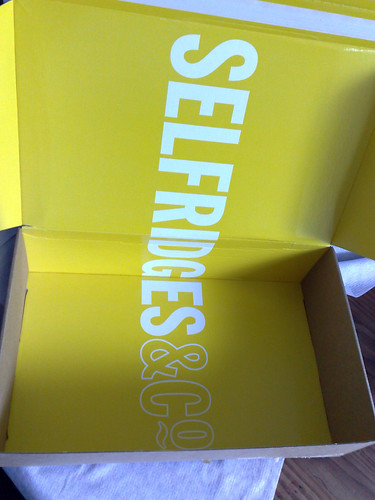 Selfridges online delivery packaging