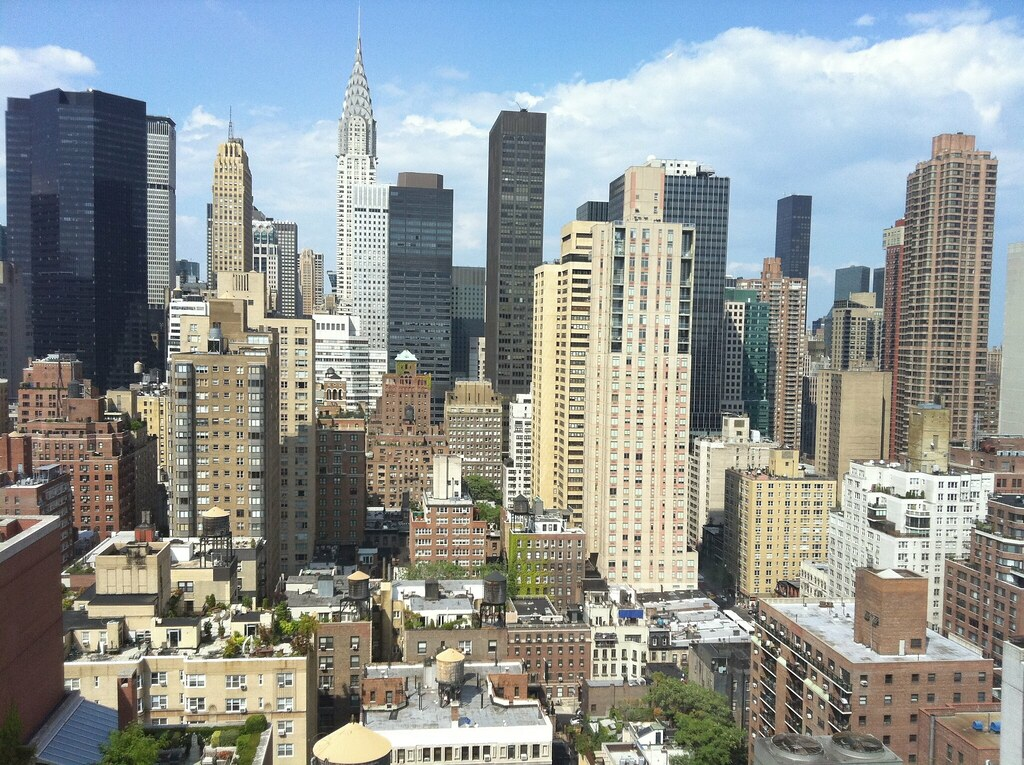 View from Affinia Dumont, NYC