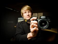 Miki (r.miska) Tags: lighting camera new portrait project nikon university flash creative sigma days 365 miki speedlight f28 sb strobe d60 miska 14mm strobist 3652010 2010365 rmiska