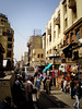 one of Cairo's nicer streets