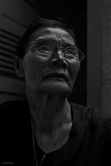 My mother - the light of my life (-clicking-) Tags: life lighting old light portrait blackandwhite bw woman texture love monochrome eyes faces mother monotone elderly older oldwoman lovely motherhood oldage visage oldtime eld mẹ nocolor lowkeylighting vietnamesemother