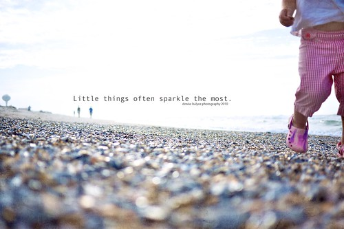 Little things often sparkle the most.