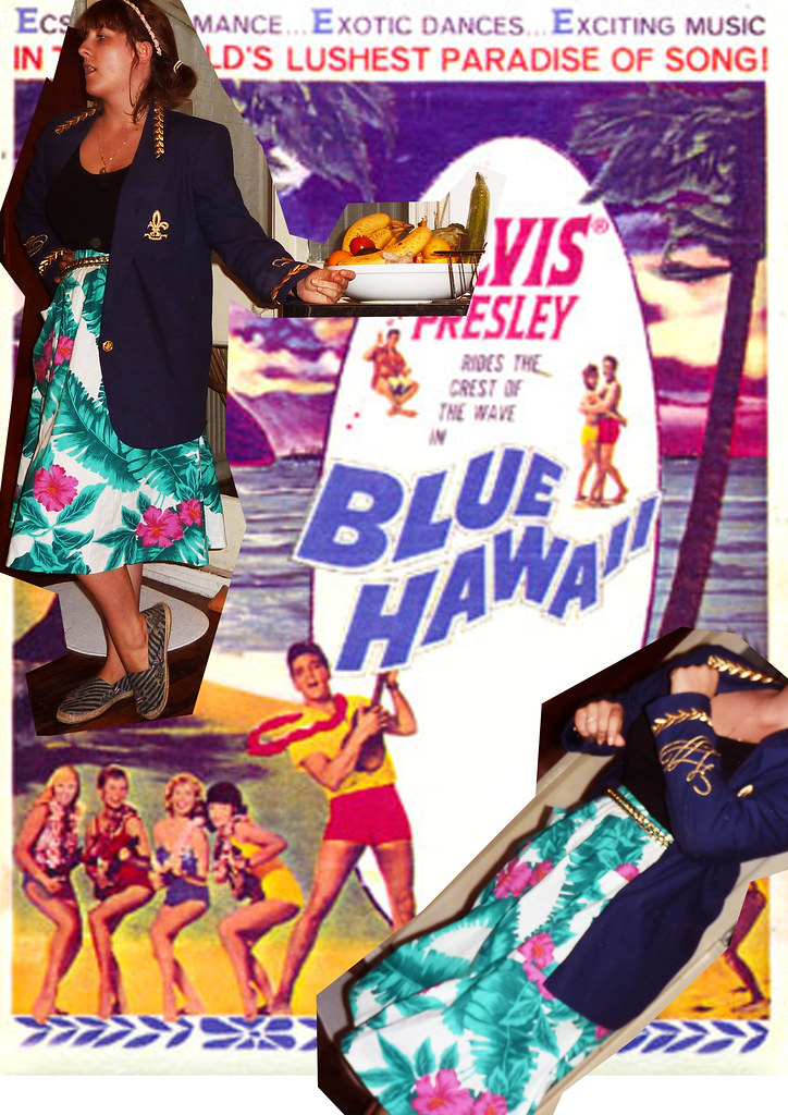 elvis blue hawai