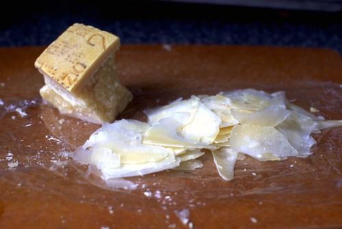 parmesan, paper-thin