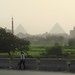 City Creeping in on the Pyramids