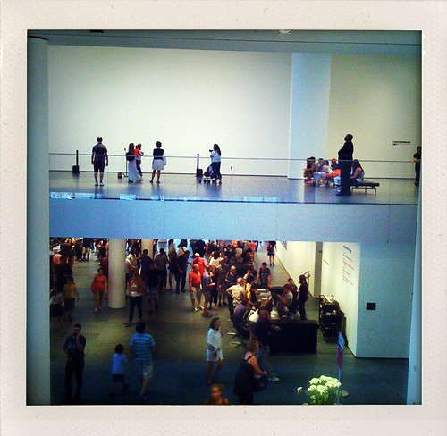 two floors of the MoMA